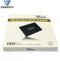 yarıiletken sürücü 128gb toptan satış-128G MLC SSD Dahili Sabit Disk V800 Katı Hal Sürücüsü 2.5 SATA3 Masaüstü Dizüstü PC için Rekabetçi