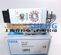Wholesale fiber sensors - FS-50 FOTEK Original & New Fiber Amplifier Photoelectric Switch Sensors