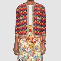 Wholesale rainbow stripe sweater - Brand Designer Women Jacquard Cardigan Sweaters 2018 Autumn Winter Fashion Rainbow Stripes Letter Pullover Casual Oversize Knit Top Knitwear