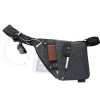 Wholesale over shoulder bag nylon online - 2017 Waterproof Nylon Fold Handbags Shoulder Bags For Men Anti Theft Crossbody bags Male Messenger Bag Leisure Bolsas