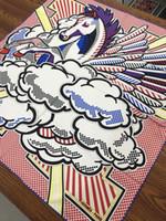 carré de soie à cheval achat en gros de-Luxe Femmes Cheval Imprimer 100% Soie Foulard Paris Marque H Châle Foulard Joker Twill Roulé Bords Écharpes 90 * 90 cm Dropshipping