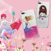 Wholesale Iphone Wholesale Europe - Phone Case For iPhone X 8 7 8PLUS 7PLUS Phone Case Europe and The United States Sexy Beauty Patterns Soft Silicon Mobile Phone Bag
