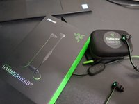 Wholesale Wireless Razer - 2017 newest Razer Hammerhead BT bluetooth In-Ear Earphone Headphone With Microphone+Retail Box Gaming Headset Top quality Noise Isolation