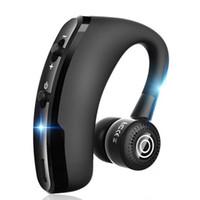 iphone 4s mãos livres venda por atacado-Fone de Ouvido Bluetooth Qualidade V9 Sem Fio CSR 4.1 Negócios Fones De Ouvido Estéreo Sem Fio Fones de Ouvido Fone De Ouvido Com Microfone Pacote de Controle de Voz USZ174