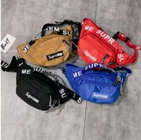 ingrosso zaino a telaio a cinghia-2018 Marsupio 3M 44th Sup Fanny Pack Unisex Fashion Waist Uomo Canvas Belt portafoglio uomo messenger bag designer zaino