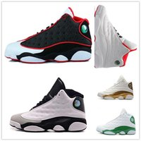 Wholesale games money - New 13 man basketball shoes Low Chutney Navy blue Pure Money Chicago black cat DMP He Got Game Playoffs Barons mens sports Sneakers