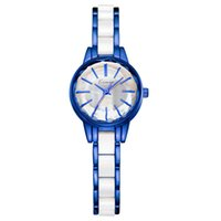 Wholesale watch gaga - 2018 Kimio Fashion White Ceramic Water Resistant Business Dress Women Lady Wristwatches Lady Gaga Couple Gift Rhinestone Casual Watch