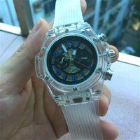 Wholesale mechanical skeleton watch movement - 2018 New Luxury brand AAA Mens Automatic Mechanical Movement men Watch Sports mens Watches skeleton men dress watch