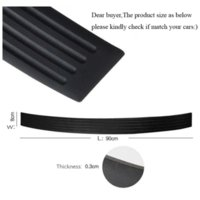 Wholesale car sill covers resale online - KAWOO For SEAT Altea Exeo Altea XL Mii Ibiza Leoni Alhambra Rubber Rear Guard Bumper Protect Trim Cover Sill Mat Pad Car Styling