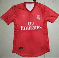 Wholesale real player online - 2018 player version home away rd Real Madrid Soccer Jersey Bale Asensio SERGIO RAMOS sales camiseta de futbol uniforms jerseys