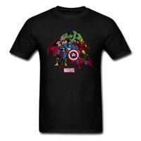 shirt neues designbild groihandel-Design New Funny Mens Sommer Cool T-shirt Schwarz Weiß Mode Lässig Tops Tees Männliche Kurzarm T-shirt