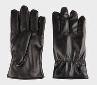 ingrosso guanto di lusso-nuovo arrivo impermeabile dito pieno guanti da ciclismo moto solido cuoio dell'unità di elaborazione guanti da polso touch screen di lusso nero