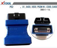xtool ford venda por atacado-Para Xtool PS2 OBDII-16 Conector para X1 PS2MINI E300 E400 X400 X500 OBD II OBD 2 OBD-II Adaptador de Diagnóstico Adaptador OBDII Obd2