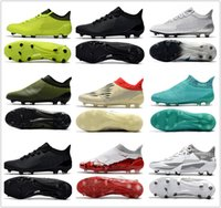 Wholesale Cheap Soft Boots - cheap 2018 mens X 17.1 FG soccer shoes football boots lows men soccer cleats turf futsal Free shipping