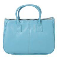 sacos de céu azul moda venda por atacado-Elegante Moda Bolsa De Ombro PU De Couro Mulheres Bolsa De Céu Azul