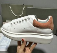 Wholesale Lace Dresses Online - 2018 Alexander MC Designer Luxury Leather Man Casual Shoes Mens Womens Fashion Sneakers Womens Dress Shoe Sports Tennis On Sale Online