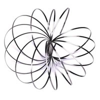 wissenschaft spielzeug neu großhandel-Neue Fluss Spielzeug Arm Slinkey Spielzeug Fluss Ringe Kinetische Frühling Armband Wissenschaft Pädagogische Sensorische Interaktive Coole Spielzeug