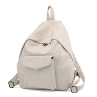 frauen kleine rucksäcke großhandel-Mochilas Mujer 2018 Vintage Bagpack Canvas Rucksack niedlichen kleinen Rucksack für Mädchen Schultaschen Frau Rucksack Frauen zurück Taschen