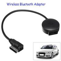 vw adaptörleri toptan satış-Araba AMI MDI Müzik Arayüzü USB Bluetooth Adaptör Kablosu MP3 Çalar için Audi / VW