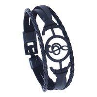 отметить браслет оптовых-Unisex Hollow Musical Note Bracelet Braided Leather Wristband Couple Gift  bracelet pulsera acero inoxidable wholesale