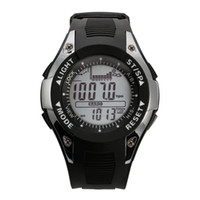 Wholesale sports watches altimeter for sale - SUNROAD Sports Wristwatch Barometer Altimeter Thermometer Weather Forecast Luxury Backlight Waterproof Digital Watches