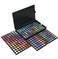 precio kit de maquillaje de ojos al por mayor-252 colores Paleta de sombras de ojos Shimmer Matte Eye Shadow Makeup Eyes Cosmetic Kit Precio barato US DHL Free