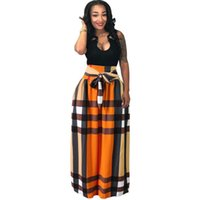 ingrosso vestito maxi dalla sfera-Womens African Boho Dashiki Dress Long Maxi A Line Skirt Stampa Busto Gonna Ball Gown Maxi Gonne Big Size 4XL
