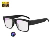 mini gizli kameralar toptan satış-Mini Iğne Deliği Kamera Gözlük Gizli Kamera Gözlük Kamera HD 1080 P Güvenlik Spor DV Kameralar için Açık / Eğitim / Öğretim / Çocuklar / evcil hayvanlar
