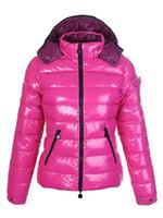 пальто с капюшоном для женщин оптовых-горячие продажи M женщины куртка зимнее пальто утолщение Женская одежда дамы настоящий енот меховой воротник капот вниз куртка