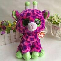 ingrosso grandi giraffe-Giraffa Gilbert TY BEANIE BOOS 1PC 25CM 10