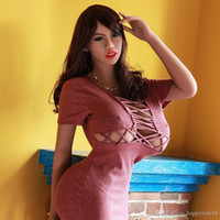 Wholesale best silicone female sex dolls resale online - Whole sell best quality cm big breast sex doll full silicone sex doll with smart voice and heating system