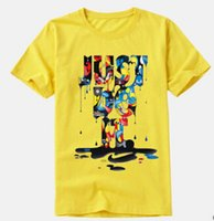 Wholesale wholesale long sleeve tshirts - Men Women Summer 3D Tshirts Letters Just Do It Design Tees Short Sleeved Casual Tops Short Sleeved O-neck Clothes