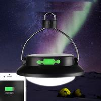 gp şarj edilebilir toptan satış-Led Çadır Işık Şarj Edilebilir Güneş Enerjisi Kamp Fener Dayanıklı Açık Cep Telefonu GPS Şarj Güç bankası