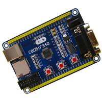 поверхностное крепление ic оптовых-Freeshipping C8051F340 Совет по развитию микроконтроллер C8051F мини-система с USB-кабель