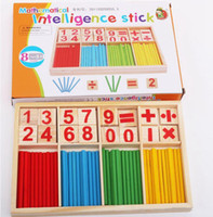 Wholesale languages learning online - Puzzle educational pine drawing board learning box Nurse brain computing arithmetic arithmetic toy YZWJ005