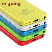 Wholesale 2018 Refurbished iPhone5C Unlocked Cell phones Apple iPhone C GB Inch IPS Capacitive Screen pixels Renew DHL
