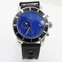 Wholesale 82 Mm - luxury brand watch men 46mm Quartz watch tick movement stainless steel AAA Watch model battery watches 82
