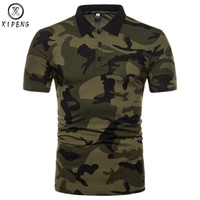 армейские камуфляжные рубашки оптовых-Men's  Camouflage  Shirt 2018 New Mens  Shirts Casual Slim Fit Classic  Homme Army Green Camisa  Masculina