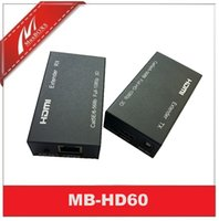 Wholesale Hdmi Extender Rj45 - HDMI to Cat5 Extender HDMI to RJ45 Converter HDMI transmission over cat5 6