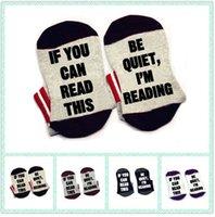 Wholesale Quiet Men - If You Can Read This Be Quiet, I'm Reading bookworm book lover Socks cotton comfortable unisex Men Women Socks
