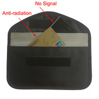teléfono celular anti seguimiento al por mayor-Bolso de bloqueo de la señal del RFID del paño de Oxford, anti-espionaje Anti-espionaje de la señal de la bolsa de la clave de la radio que bloquea la caja del teléfono celular