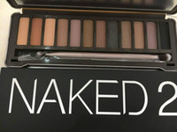 Wholesale Naked Eye Make Up - Naked makeup eyeshadow palettes eye shadow pallet 12 color NUDE 1.2.3 decay Makeup Naked Palettes chocolate bar with Make up