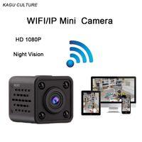 Wholesale ip camera video recording - HD 1080P Mini Wifi Camera Wireless Night Vision Cam Wireless IP AP Camera Remote Recording Video Micro Camcorder Car Sport DV