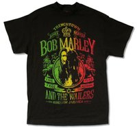 "Wholesale reggae fashion - BOB MARLEY ""LIVE FREE"" BLACK T-SHIRT NEW OFFICIAL ADULT REGGAE WAILERS JAMAICA"