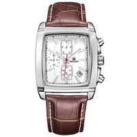 relógios originais para homens venda por atacado-Original relógio homens top marca de luxo de quartzo militar relógios de couro genuíno dress relógio de pulso dos homens relógio relogio masculino