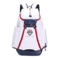 Wholesale Large Travel Hiking Backpacks - 2018 New Man's Bags The Olympic Packs Backpack Large Capacity Waterproof Training Travel Bags USA National Team Basketball Backpacks