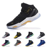 Wholesale foot rubbers - under armour UA Curry 2 mens basketball shoes BHM Final Sports Sneakers Cushion trainers Cushion On Foot outdoor designer