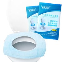 Wholesale Toilet Seats Covers Soft - Safe Toilet Circle Cover Hygienic Soft Disposable Toilets Seat Cushion Easy To Carry Outdoor Supplies For Travel Hotel Office 0 38sk B
