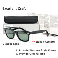 Wholesale stickers cases - High quality Brand Designer Sunglasses classic Designer Glasses Western style square Frame G-15 sticker Mens Sunglasses for Women with case
