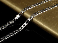 Wholesale 925 sterling silver curb chains - 2018 Fine Solid 925 Sterling Silver Chain 4MM Men Women Necklace 16 - 30inch XMAS New Classic Curb Necklace Chain Link Italy N102